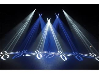4x Showtec Phantom 65 Moving Head Spot 65W LED inkl. Case