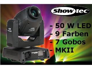 Showtec Phantom 50 LED Spot MKII 50W Moving-Head