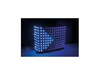 Showtec Pixel Sky Pro Dj 2,2 x 1m schwarzes LED Tuch incl. Case & Controller