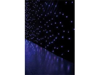 Showtec Star Dream  6x4m RGB, 8-Kanal, schwarzer Molton