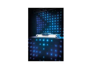 Showtec Visiondrape DJ Curtain Set - 2x3m & 1,2x2m LED-Vorhänge inkl. Controller