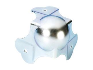 Kugelecke groß dreischenklig gekröpft 30 mm 3-Loch