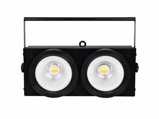 EUROLITE Audience Blinder 2x100W LED COB CW/WW