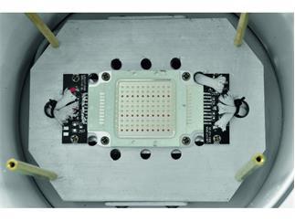 EUROLITE LED PAR-56 COB RGB 100W silber