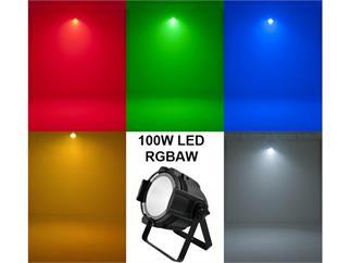 EUROLITE LED ML-56 COB RGBAW PCL 100W schwarz