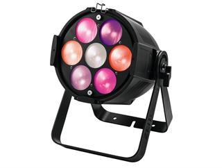 eurolite Zeitgeist Spot 210 schwarz, 7x 30Watt COB LED