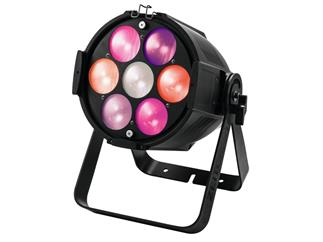 eurolite Zeitgeist Spot 210 silber - 7 x 30W RGB LED