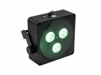 Eurolite AKKU Flat Light 3 schwarz