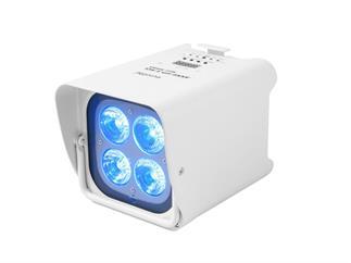 EUROLITE AKKU UP-4 HCL Spot WDMX weiß 4 x 12W RGBWAUV LED