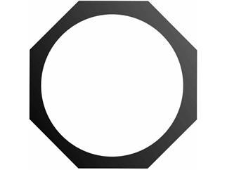Eurolite Filterrahmen PAR-56 Profi,8-eckig,schwarz