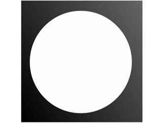 Filterrahmen für PAR-56, 4-eckig, schwarz