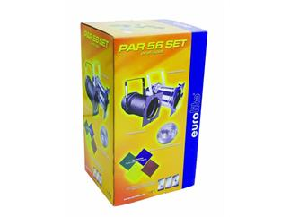 PAR-56 Profi Spot, Set, schwarz