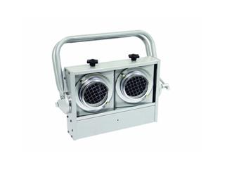 Audience Blinder,2xPAR-36,silber für 120V/650W DWE Lampe