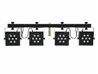Eurolite Set 2x KLS-801 + DMX LED Color Chief Controller