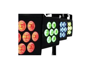 EUROLITE LED KLS-2500 Kompakt-Lichtset,  4 x 7 x 10W RGBWA, 280W LED