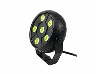 EUROLITE LED PK-3 RGB Spot mit 6 LEDs und RGB-Farbwechsel