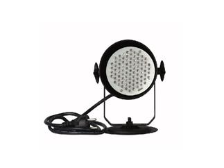 Showtec LED Pinspot PAR-36 schwarz, RGB