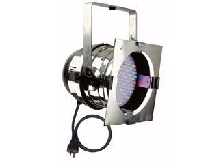 LED PAR 64 SHORT DMX, SILBER POLIERT, RGB