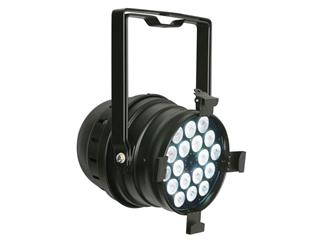 Showtec LED PAR 64 Q4-18 Black, QCL-LEDs, RGBW
