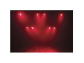 SHOWTEC CLUB PAR DIZZY 3x8, RGB+UV+Strobe