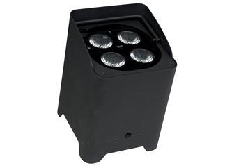 Showtec EventLITE 4/10 Q4 incl. Wireless DMX, Black
