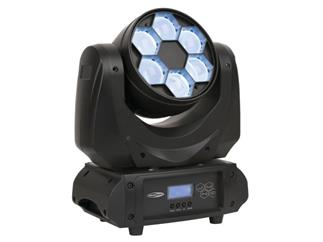 SHOWTEC Juno FX Moving Head - 6 x 9W RGBW LED