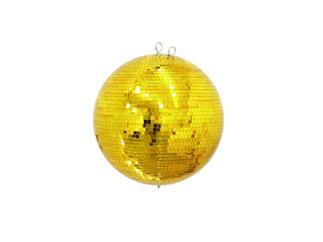Spiegelkugel 40cm Gold im Farbkarton mit Sicherungsöse