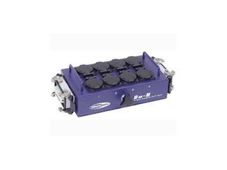 BO-8-S2 Powerbox mit 8 Schutzkontakt, 2x Multipin