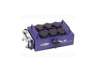 BO-6-S1 Powerbox mit 6 Schutzkontakt, 1x Multipin