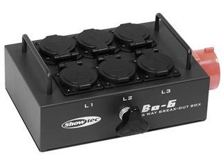 BO-6-PW Powerbox CEE 16A 5 Pol