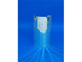Spiegelmatte 400x200mm, Spiegel 10x10mm