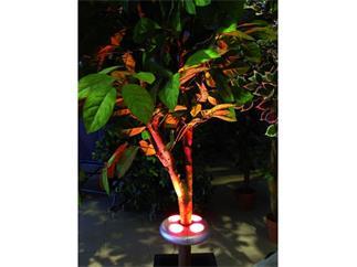 Schirmbeleuchtung im Schnappring LED RGB