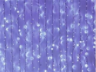 EUROLITE LED Curtain Light 925 x UV-LEDs, 3,5x3,6  Meter