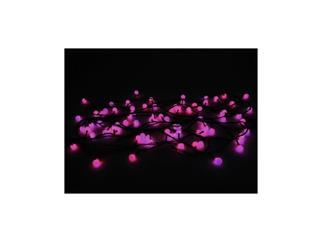 LED Murmel-Lichterkette 80LEDs SC rot/blau, switching colors