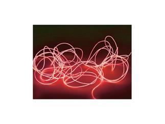 EUROLITE Flexible Elektrolumineszenz Leuchtschnur 2mm, 2m, rot