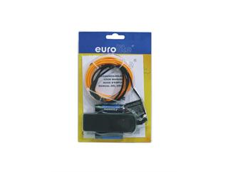 EUROLITE EL Schnur 2mm, 2m, orange