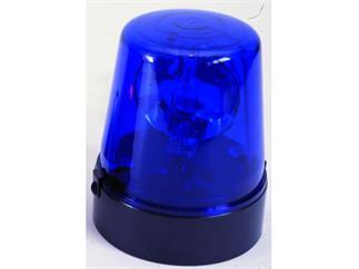 Polizeilicht DE-1, blau, 230V/15W, inkl. 1,8m Kabel mit Stecker