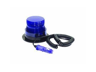 Polizei-Blitzlicht, rund, blau, 12V
