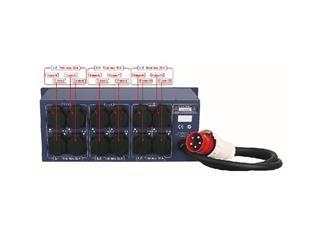 PSA-3212S Powerdistributor, mit Schutzkontaktausgängen