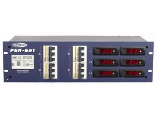 Showtec PSA-631 Power distribution 3 x 63 amp Voltage