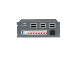 SHOWTEC PSA-32A12S 12x MCB, Schutzkontakt out