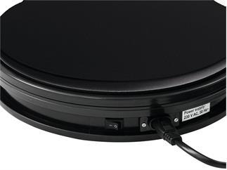 europalms Drehteller 25cm bis 25kg schwarz