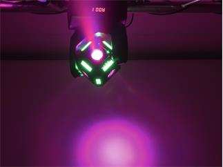 Eurolite LED MFX-3 Action Cube 6 x 10W RGBW + 48 x SMD RGB