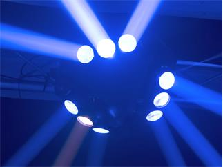 Eurolite LED MFX-4 Strahleneffekt