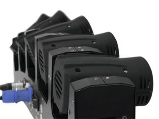 Eurolite LED MFX-5 Strahleneffekt - 5 x 10W RGBW