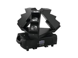 EUROLITE LED MFX-9 Strahleneffekt mit endloser PAN-Bewegung