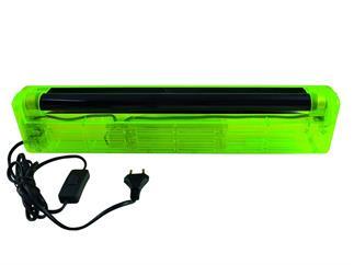 UV-Röhre Komplettset 45cm 15W ABS gelb