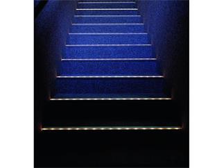 Eurolite Treppenstufenprofil, 10x10mm, alu, 2m
