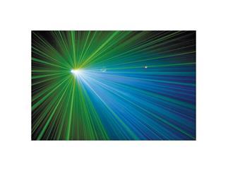 Showtec Bluestar MKII DMX Laser Rot 100mW, Grün 40mW + Blaue LED