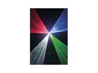 Showtec Galactic RGB850 Laser Rot 200mW, Grün 150mW, Blau 500mW